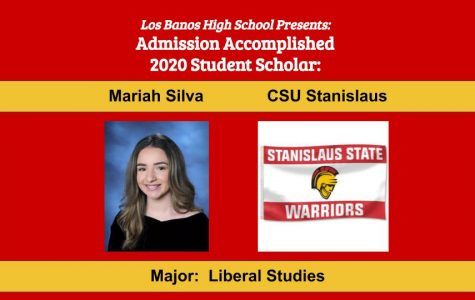 Admission Accomplished:  2020 Graduate Mariah Silva