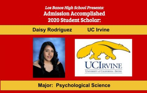 Admission Accomplished: 2020 Graduate Daisy Rodriguez