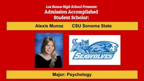 Admission Accomplished:  2020 Graduate Alexis Munoz