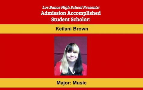 Admission Accomplished:  2020 Graduate Keilani Brown