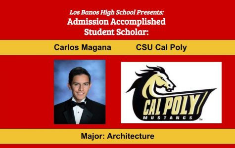 Admission Accomplished:  2020 Graduate Carlos Magana