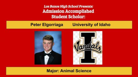 Admission Accomplished:  2020 Graduate Peter Elgorriaga