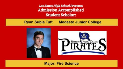 Admission Accomplished:  2020 Graduate Ryan Subia Tuft