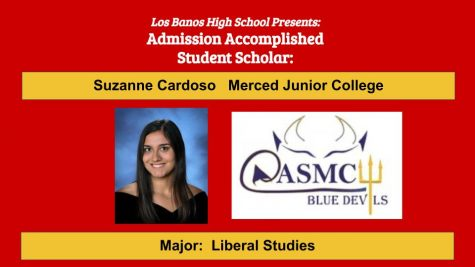 Admission Accomplished:  2020 Graduate Suzanne Cardoso