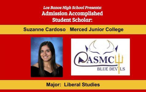 Admission Accomplished:  2020 Graduate Suzanne Cardoso