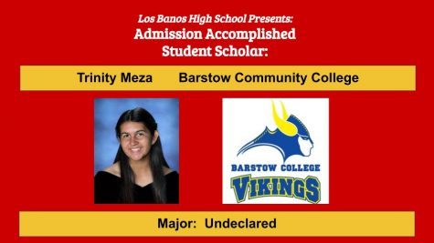 Admission Accomplished:  2020 Graduate Trinity Meza