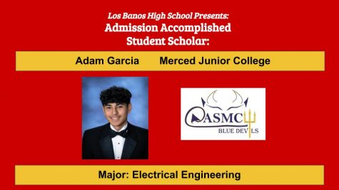Admission Accomplished:  2020 Graduate Adam Garcia