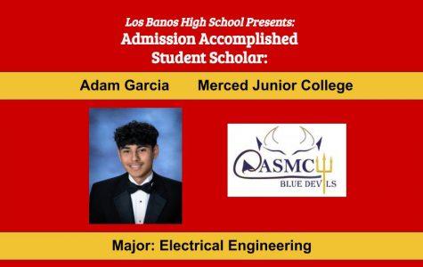 Admission Accomplished:  2020 Graduate Adam Garcia