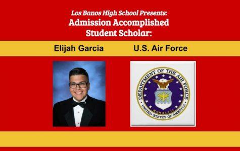 Admission Accomplished:  2020 Graduate Elijah Garcia