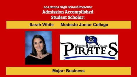 Admission Accomplished:  2020 Graduate Sarah White
