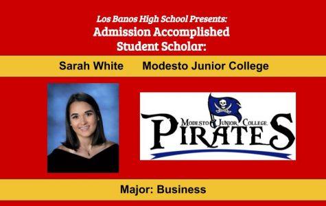 Admission Accomplished:  2020 Graduate Sarah White