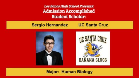 Admission Accomplished:  2020 Graduate Sergio Hernandez