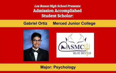 Admission Accomplished:  2020 Graduate Gabriel Ortiz