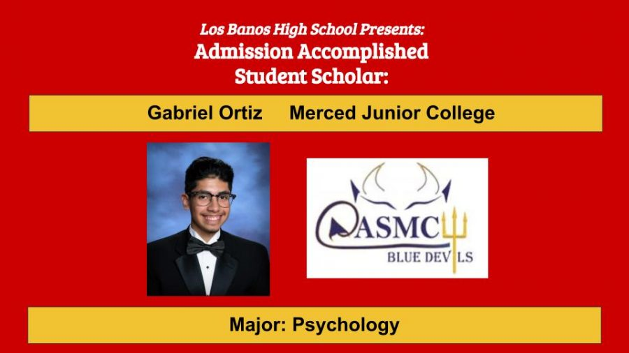 Admission Accomplished:  2020 Graduate Gabriel Ortiz