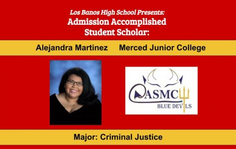 Admission Accomplished:  2020 Graduate Alejandra Martinez