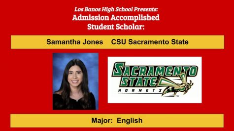 Admission Accomplished: 2020 Graduate Samantha Jones