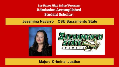 Admission Accomplished:  2020 Graduate Jessmina Navarro