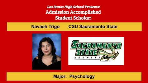 Admission Accomplished:  2020 Graduate Nevaeh Trigo
