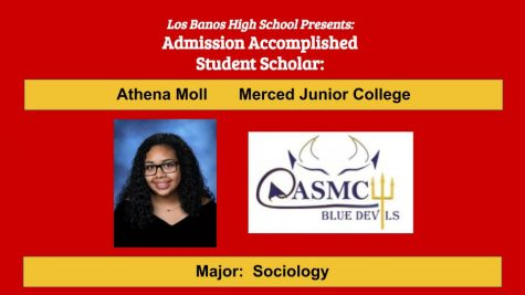 Admission Accomplished:  2020 Graduate Athena Moll