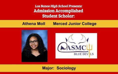 Admission Accomplished:  2020 Graduate Athena Moll