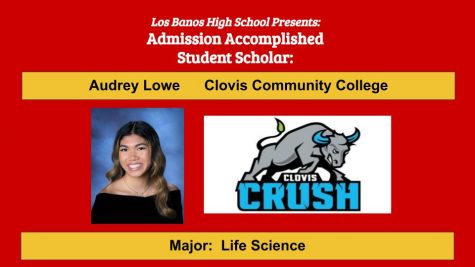 Admission Accomplished:  2020 Graduate Audrey Lowe