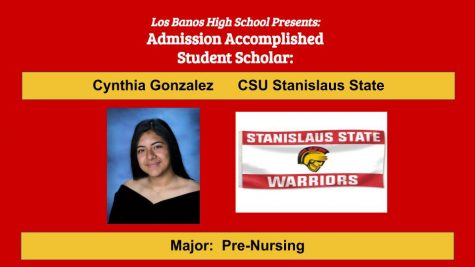 Admission Accomplished:  2020 Graduate Cynthia Gonzalez