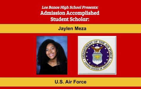 Admission Accomplished:  2020 Graduate Jaylen Meza