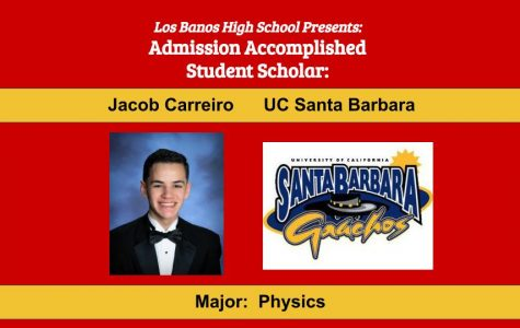 Admission Accomplished:  2020 Graduate Jacob Carreiro