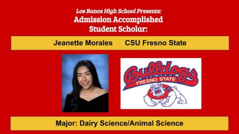 Admission Accomplished:  2020 Graduate Jeanette Morales