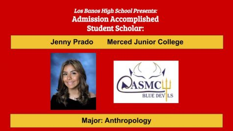 Admission Accomplished:  2020 Graduate Jenny Prado