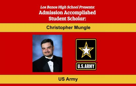 Admission Accomplished:  2020 Graduate Christopher Mungle
