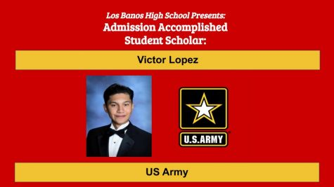 Admission Accomplished:  2020 Graduate Victor Lopez