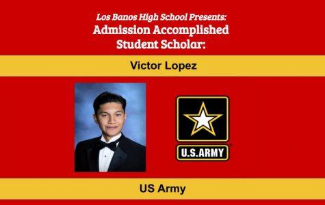 Admission Accomplished:  2020 Graduate Victor Lopez