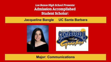 Admission Accomplished:  2020 Graduate Jacqueline Bangle