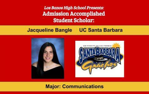 Admission Accomplished:  2020 Graduate Jacqueline Bangle