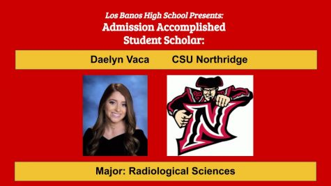 Admission Accomplished:  2020 Graduate Daelyn Vaca