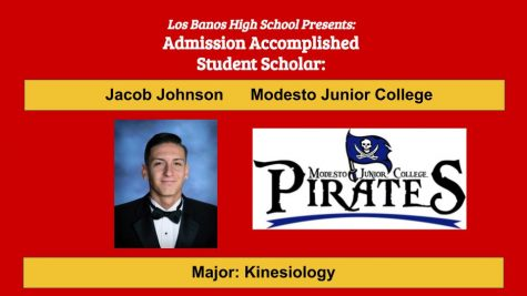 Admission Accomplished:  2020 Graduate Jacob Johnson