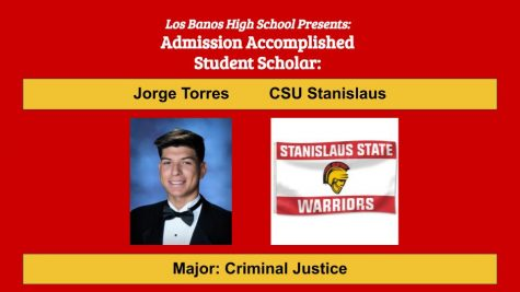 Admission Accomplished:  2020 Graduate Jorge Torres
