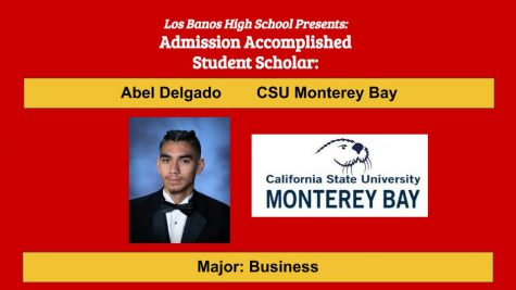 Admission Accomplished:  2020 Graduate Abel Delgado