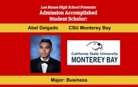 Admission Accomplished:  2020 Graduate Abel Delgado