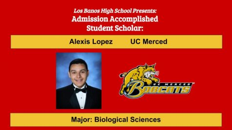 Admission Accomplished:  2020 Graduate Alexis Lopez