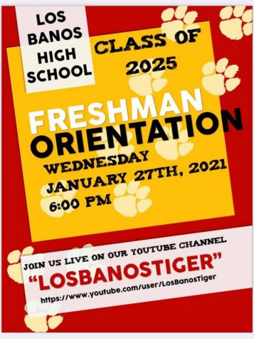Freshman Orientation Coming Jan. 27