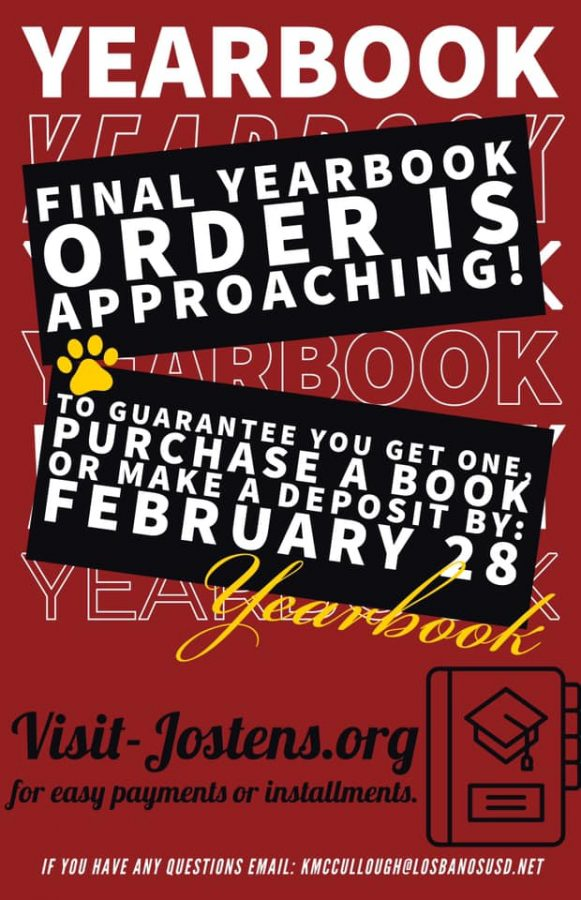 Yearbook+Book+Order+Due