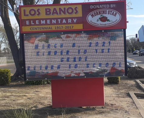 Aside from LBHS, Los Banos Elementary is one of many schools  which have programmed to reopen, abiding with the District outlines.