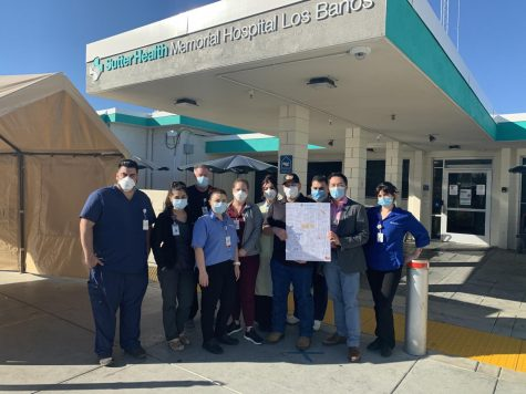Science Department Thanks Local Hospital