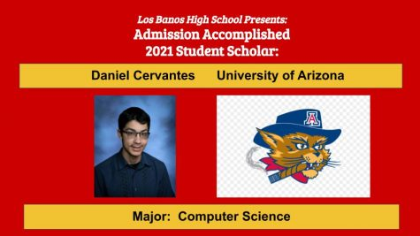 Admission Accomplished:  Daniel Cervantes