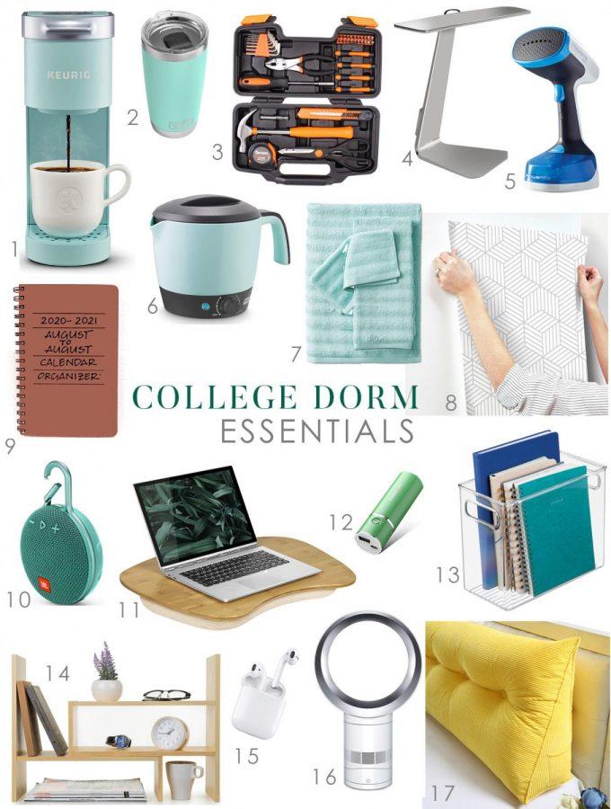Top+College+Dorm+Essentials