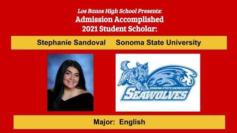 Admission Accomplished:  Stephanie Sandoval