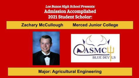 Admission Accomplished:  Zachary McCullough