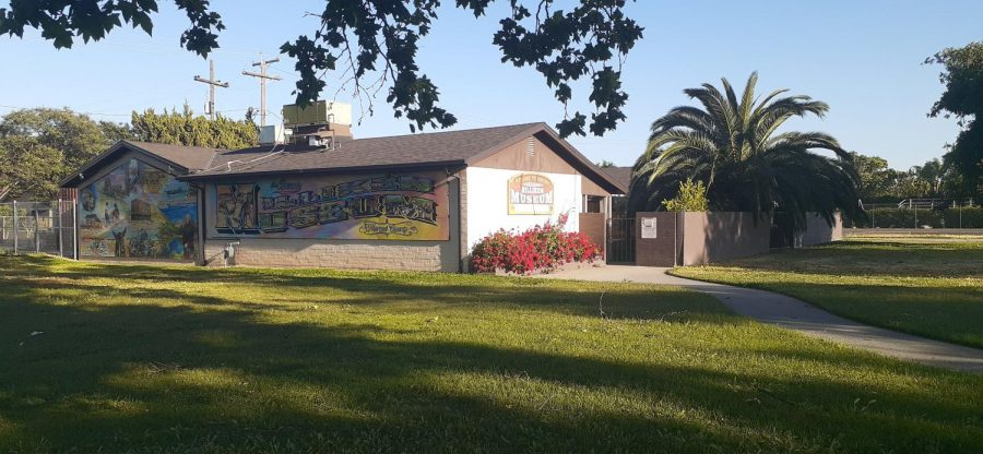 Milliken Museum, located within the Los Banos Co Park